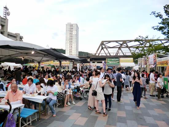 地ビールフェスト甲府 広場